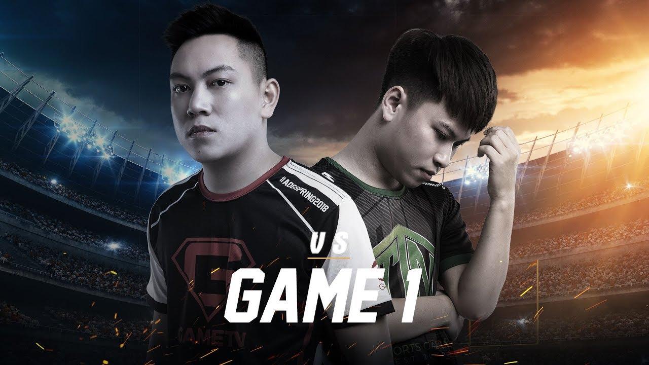 GameTv vs Team Thai Nguyen - Game 1 - ĐTDV Mùa Xuân 2018 - Garena Liên Quân Mobile