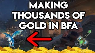 Video World Of Warcraft Gold Farm How To Make Thousands In BFA download MP3, 3GP, MP4, WEBM, AVI, FLV Agustus 2018