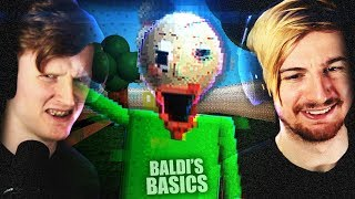 HIDE AND SEEK WITH BALDI ISN'T FUN! | Baldi's Basics NEW Demo
