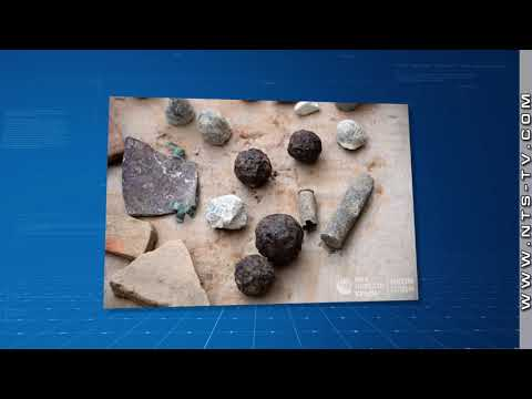 НТС Севастополь: 8 тысяч артефактов найдено во время раскопок на четвёртом бастионе в Севастополе