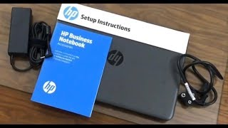 HP 240 G5 AS25PA Unboxing