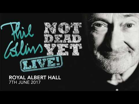 Phil Collins - Live at the Royal Albert Hall - 7th June 2017
