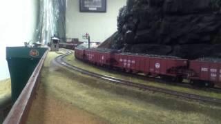 Ho train layout