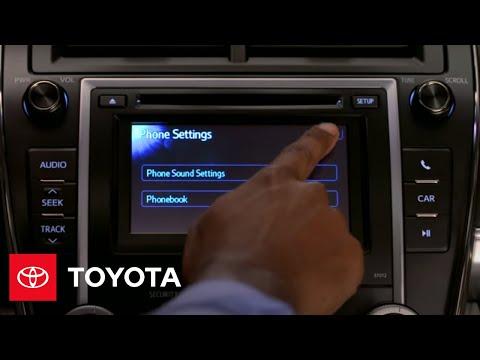 2012 Camry How-To: Setup | Toyota