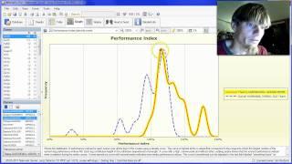 O-training.net: Split time analysis using Performance Index