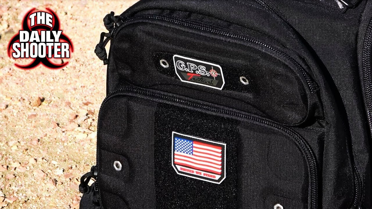 G.P.S. Tactical Range Pack - The Last Pistol Bag U'll Ever Need