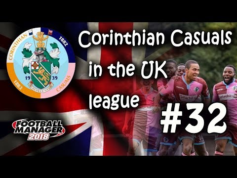 FM18 - Corinthian Casuals in a UK league - EP32: Sundown in African Trophy - Football Manager 2018