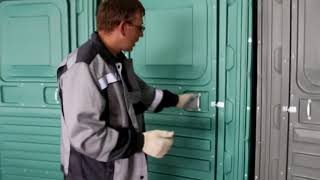 """Обзор Туалетных кабин """"ЕвроКомфорт"""""""
