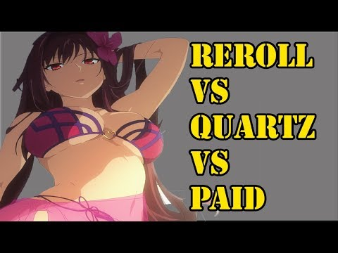 Rerolling Vs Quartz Accounts Vs Buying Accounts (Pros and Cons) | Fate/Grand Order Discussion