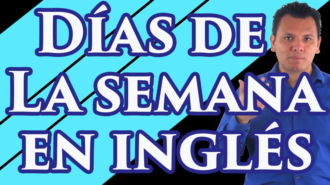 Pronunciaci n de los d as de la semana en ingl s youtube for Pronunciacion en ingles
