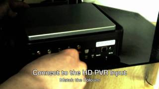 HD PVR Setup (PS3)