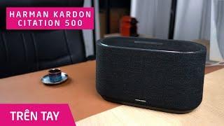 Harman Kardon Citation 500 - loa bluetooth có Google Assistant