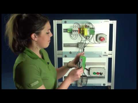 Wiring a Solid State Motor Starter  Phoenix Contact  YouTube