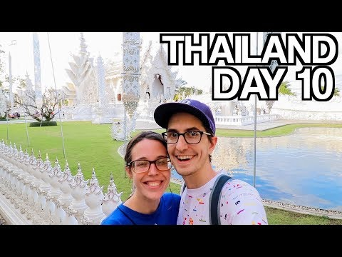 Stunning White Temple & Worst Restaurant Experience in Chiang Rai 🇹🇭