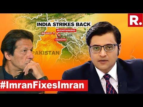 Imran Khan Gets Balakot Nightmares | The Debate With Arnab Goswami