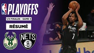 Résumé NBA VF : Kevin Durant écœure les Bucks avec 49 points !