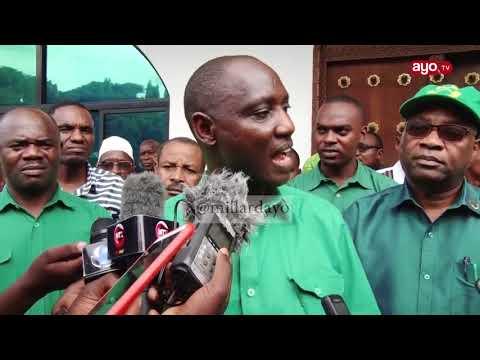 Msimamo wa Dk.Bashiru CCM 'Siwezi kufanya siasa majukwaani'