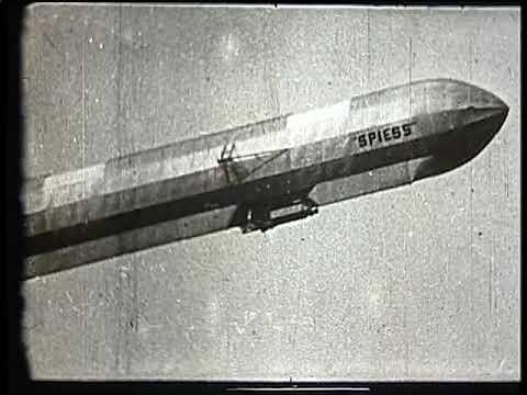 Spiess, Zeppelin like airship in 1914