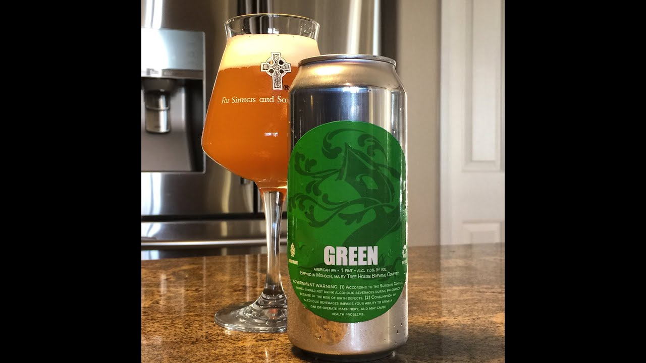 Charming Treehouse Brewing Part - 14: Beer Review #73 - Tree House Brewing - Green (The Best IPA Iu0027ve Ever Had!)  - 7.5% ABV - YouTube