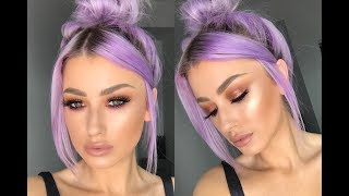 URBAN DECAY NAKED HEAT PALETTE TUTORIAL | lolaliner