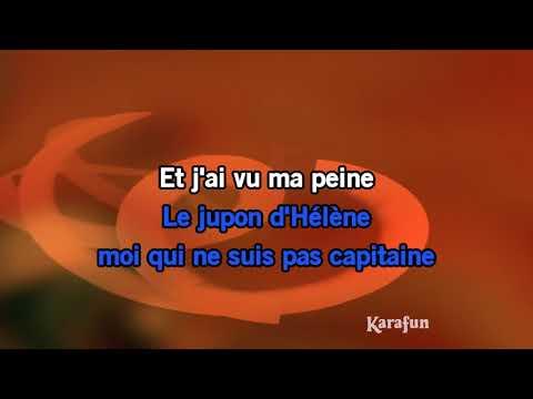 Karaoké Les sabots d'Hélène - Georges Brassens *