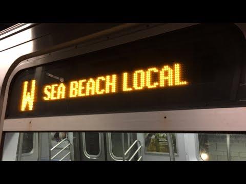 BMT Subway: (B) (D) (N) (Q) (R) (W) Trains @ DeKalb Avenue (R46, R68, R68A, R160A-2, R160B)