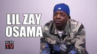Lil Zay Osama on Shooting while Filming Music Video with YFN Lucci (Part 7)