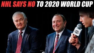 NHL Announces No World Cup in 2020