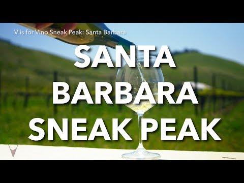 """Santa Barbara 1 min episode preview - """"V is for Vino"""" wine show"""