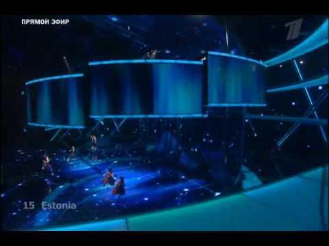 Eurovision 2009 - Estonia - Sandra Nurmsalu & Urban Symphony - Rändajad