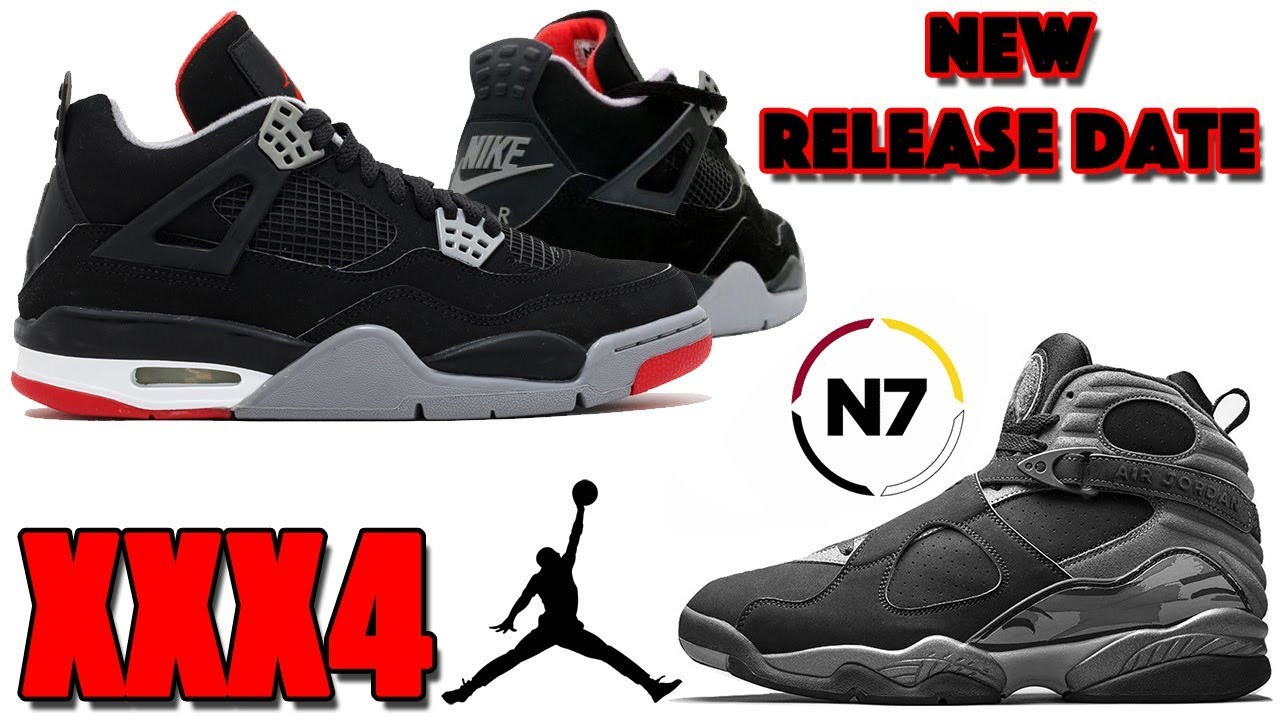 AIR JORDAN 4 BRED (BLACK CEMENT) NEW RELEASE DATE 3c0c681b0