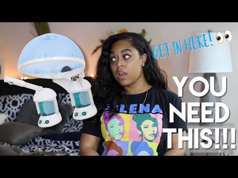 HAIR STEAMER & FACIAL STEAMER you NEED this!! | Danielle Renée!!!