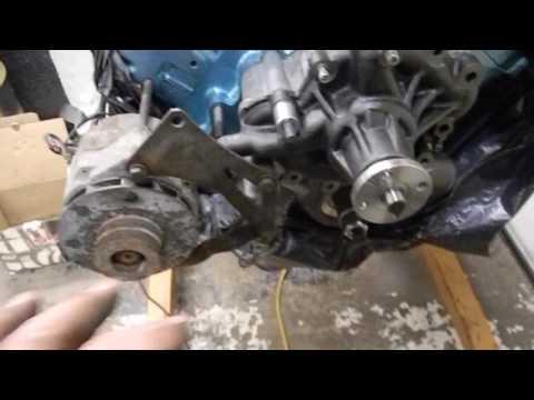 Amc Jeep 304 Alternator Wiring Amc 360 Build Youtube