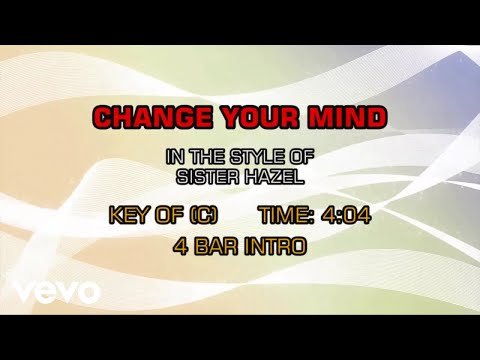 Sister Hazel - Change Your Mind (Karaoke)