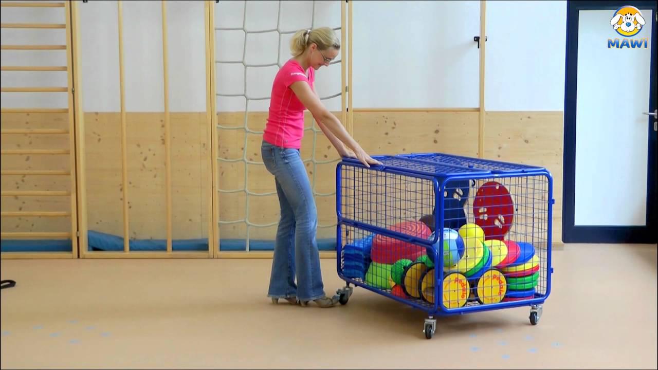 transportwagen f r sandspielsachen und sportmaterial youtube. Black Bedroom Furniture Sets. Home Design Ideas