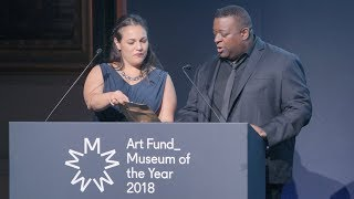 Art Fund Museum of the Year ceremony 2018