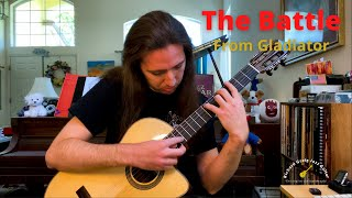 The Battle (from Gladiator) - guitar arrangement by Richard Greig