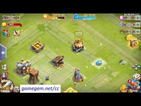 Castle Clash Hack Unlimited Gems ♦ 50k Gems In Castle Clash Tutorial Android & IOS