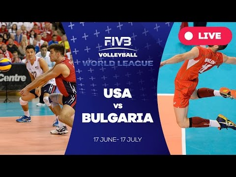 United States v Bulgaria - Group 1: 2016 FIVB Volleyball World League