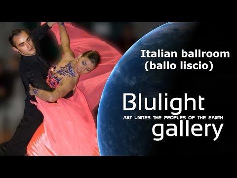 Italian ballroom ballo liscio