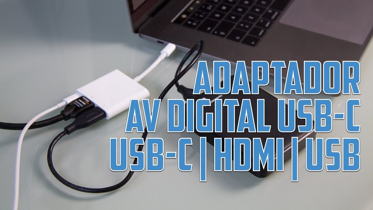 dec25c81f0f Adaptador USB-C a AV Digital (HDMI y USB) de Apple - Análisis en Español