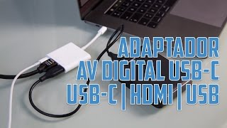 Gambar cover Adaptador USB-C a AV Digital (HDMI y USB) de Apple - Análisis en Español