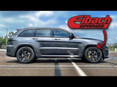 Jeep Trackhawk Lowered On Eibach Special Edition Springs W Oem 20