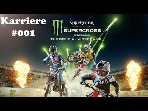 Monster Energy Supercross deutsch gameplay german PS4 / Xbox One #01 – Let's play Supercross