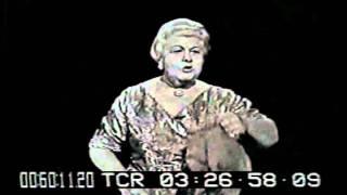 Sophie Tucker 1960