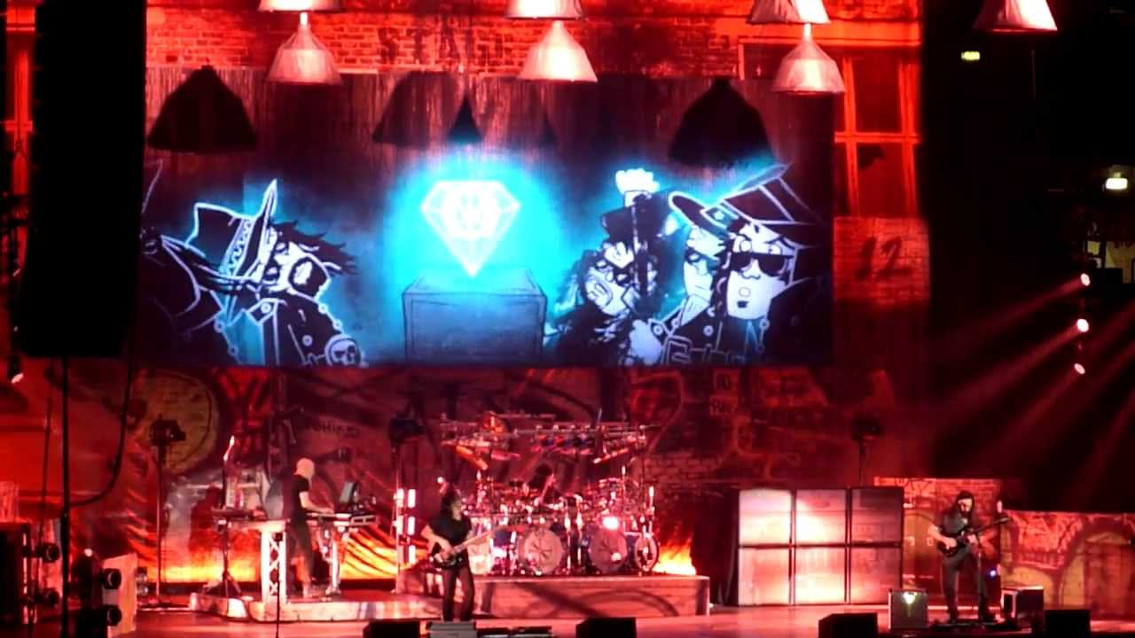 enigma machine mike mangini drums solo dream theater live milan milano italy 20 01 2014. Black Bedroom Furniture Sets. Home Design Ideas