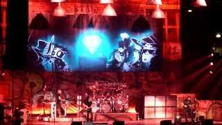 ENIGMA MACHINE + MIKE MANGINI DRUMS SOLO - DREAM THEATER live MILAN - MILANO ITALY 20/01/2014 - HD