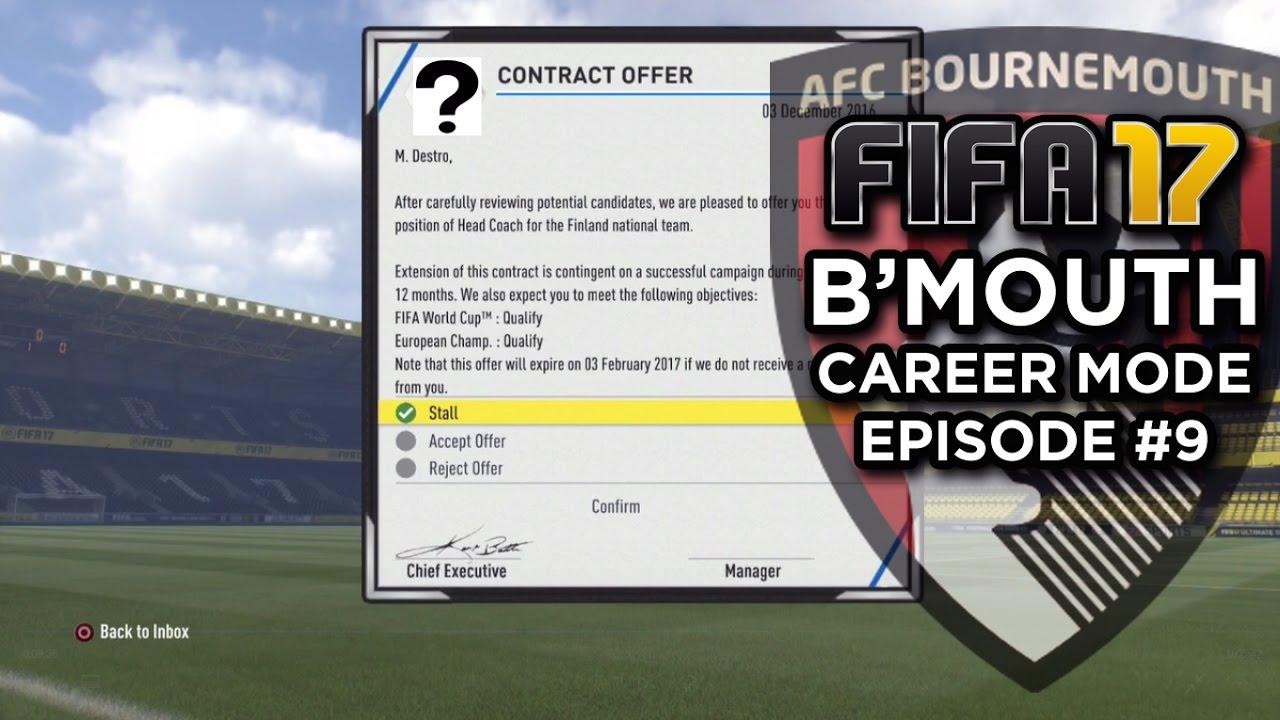 Fifa 18 career mode international job offers best cheap hybrid team fifa 18