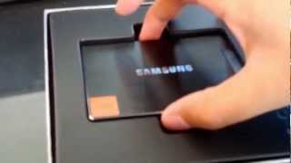 Jason Reports: Unboxing Samsung 830 128GB Solid State hard drive