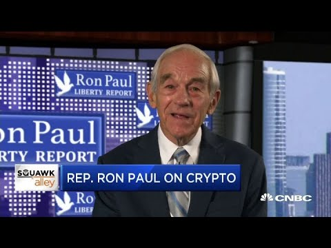 Cryptocurrency a great idea, says former Congressman Ron Paul